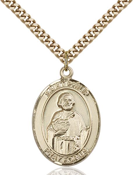 Gold-Filled St. Philip Neri Pendant