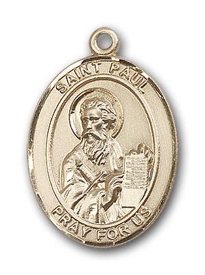 14K Gold St. Paul the Apostle Pendant
