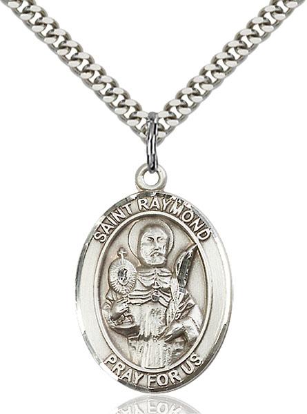 Sterling Silver St. Raymond Nonnatus Pendant