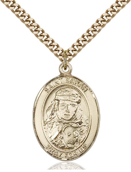 Gold-Filled St. Sarah Pendant