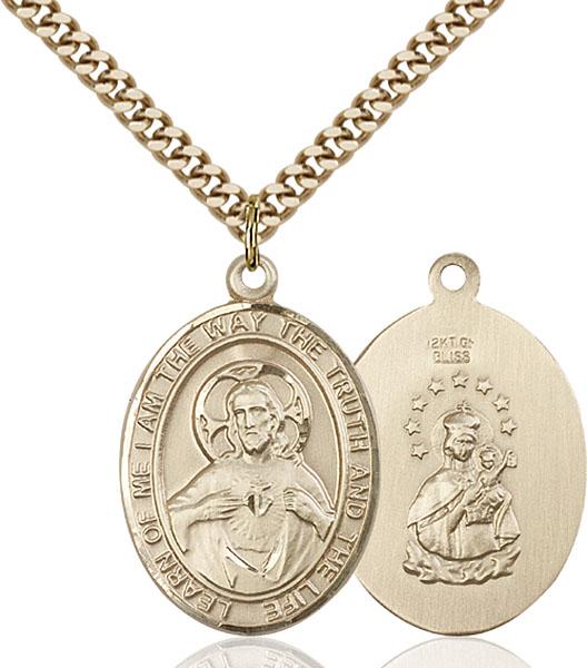 Gold-Filled Scapular Pendant