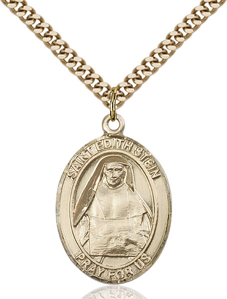Gold-Filled St. Edith Stein Pendant