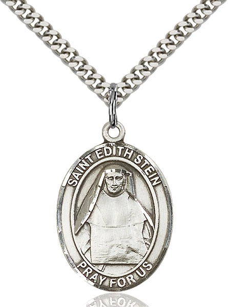 Sterling Silver St. Edith Stein Pendant