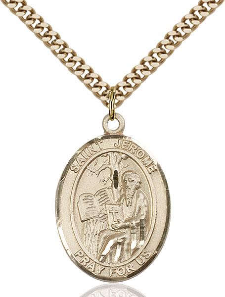 Gold-Filled St. Jerome Pendant