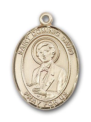 14K Gold St. Dominic Savio Pendant