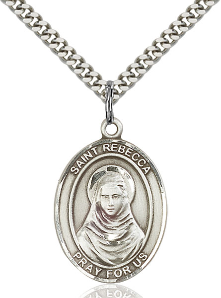 Sterling Silver St. Rebecca Pendant
