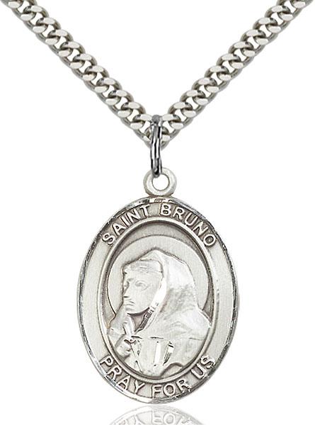 Sterling Silver St. Bruno Pendant