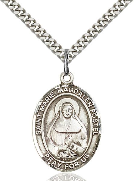 Sterling Silver Marie Magdalen Postel Pendant