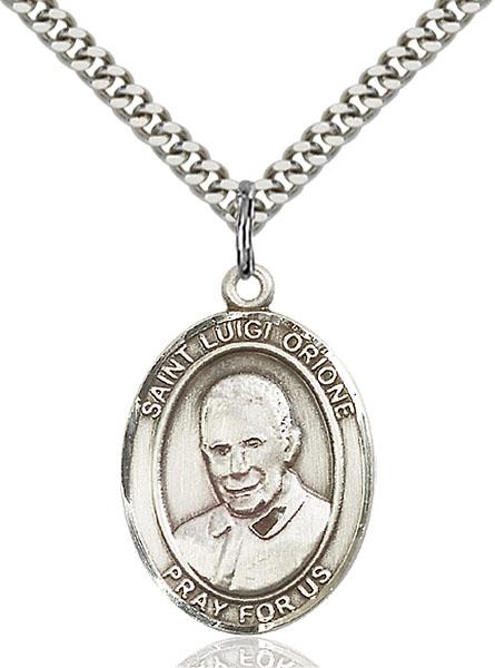 Sterling Silver St. Luigi Orione Pendant