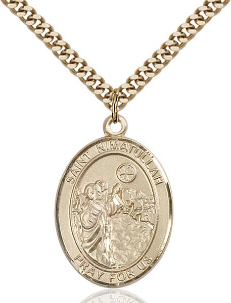 Gold-Filled St. Nimatullah Pendant