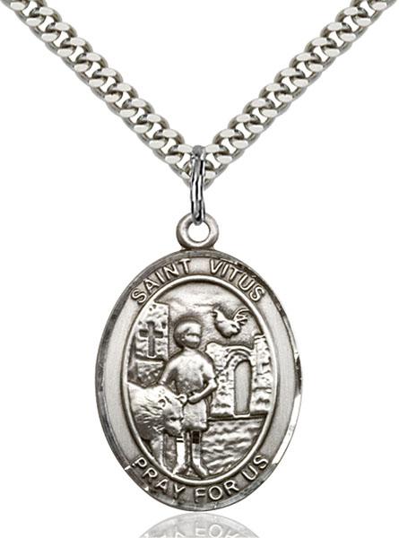 Sterling Silver St. Vitus Pendant
