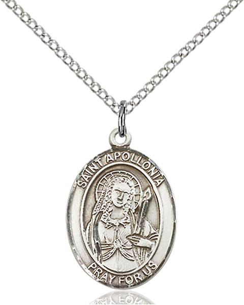 Sterling Silver St. Apollonia Pendant