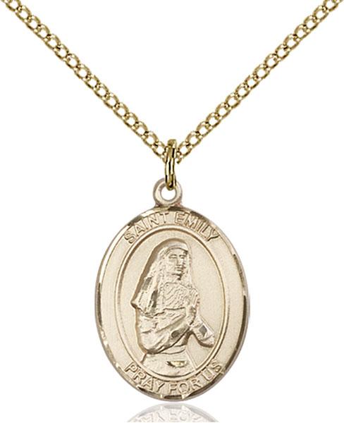 Gold-Filled St. Emily De Vialar Pendant