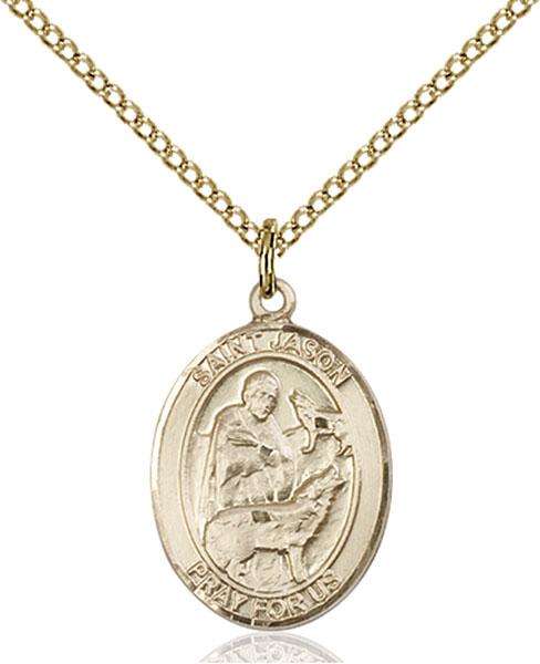 Gold-Filled St. Jason Pendant