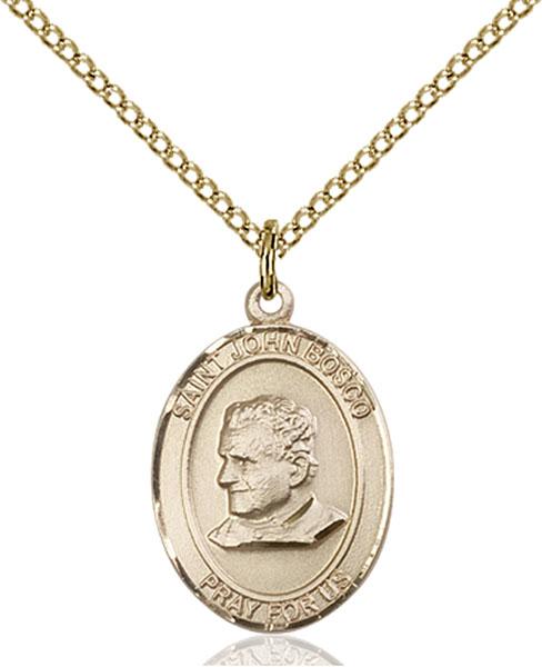 Gold-Filled St. John Bosco Pendant
