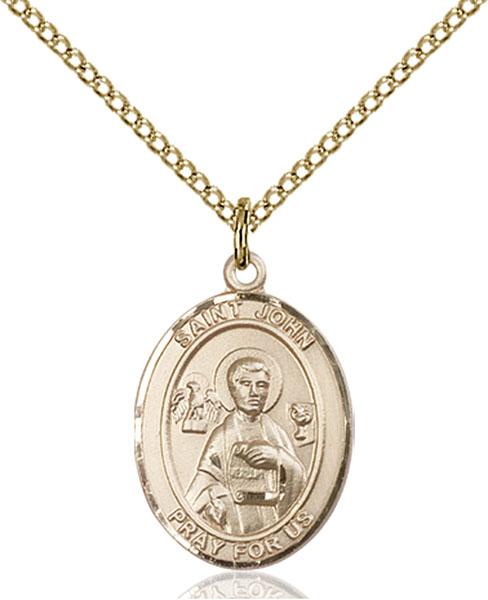 Gold-Filled St. John the Apostle Pendant