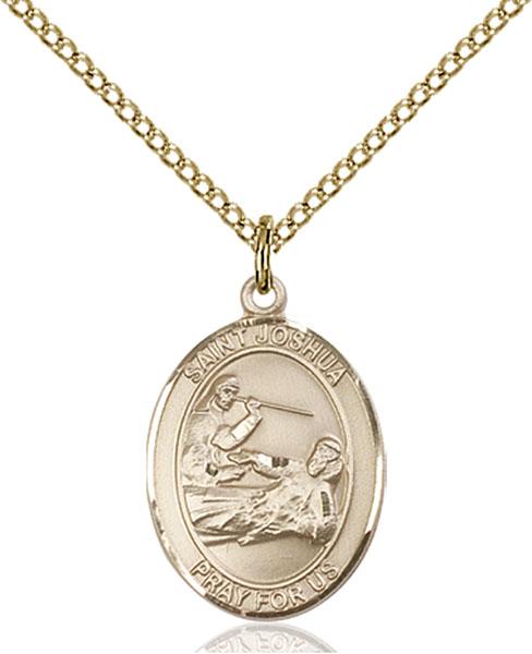 Gold-Filled St. Joshua Pendant