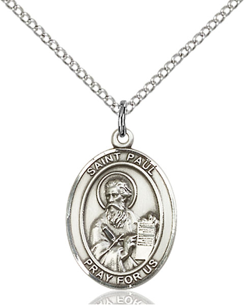 Sterling Silver St. Paul the Apostle Pendant