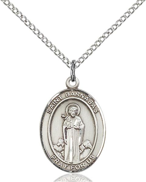 Sterling Silver St. Barnabas Pendant