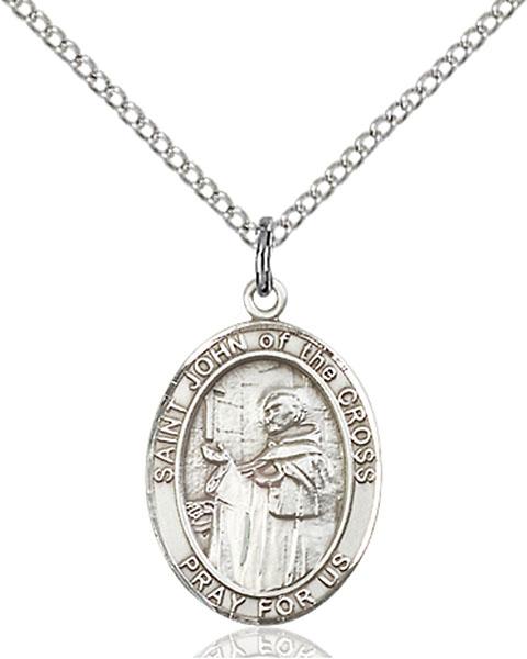 Sterling Silver St. John of the Cross Pendant