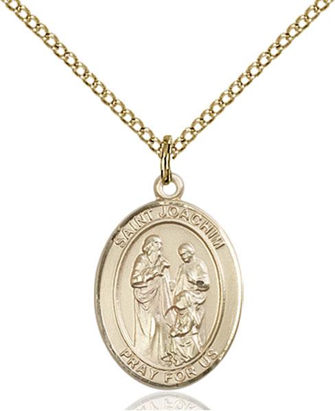Gold-Filled St. Joachim Pendant