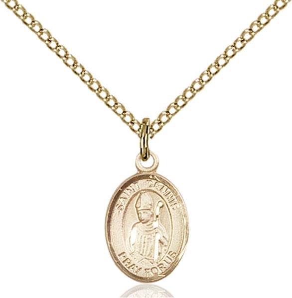 Gold-Filled St. Dennis Pendant