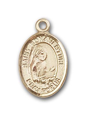 14K Gold St. Bonaventure Pendant