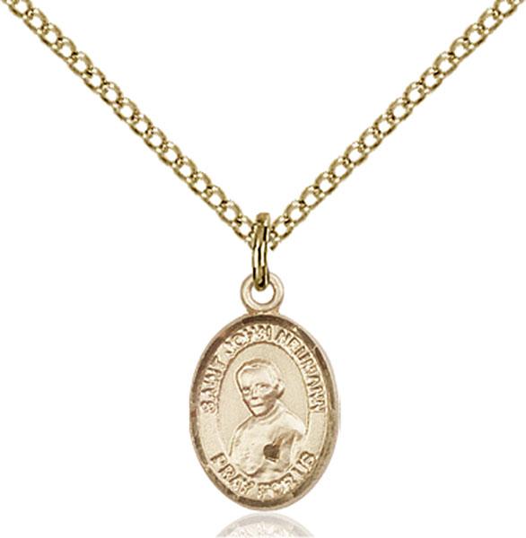 Gold-Filled St. John Neumann Pendant