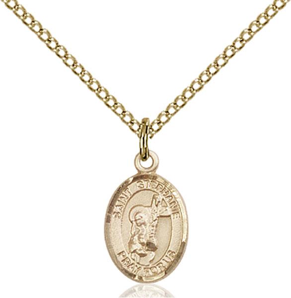 Gold-Filled St. Stephanie Pendant