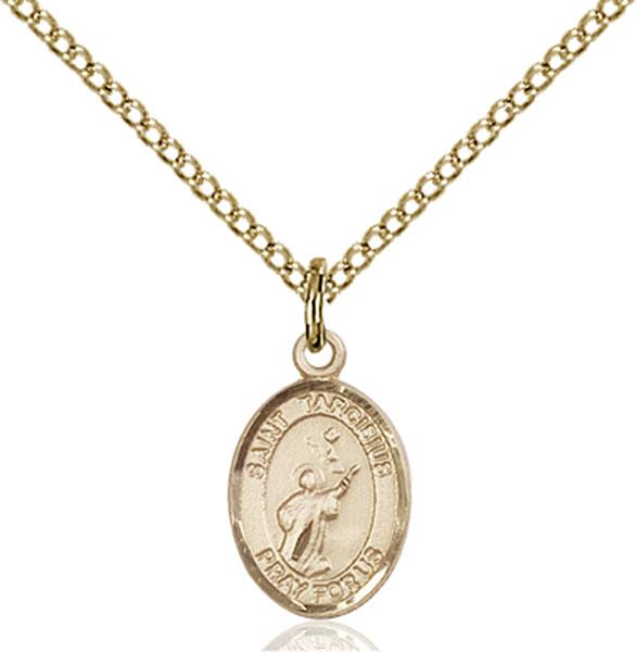 Gold-Filled St. Tarcisius Pendant
