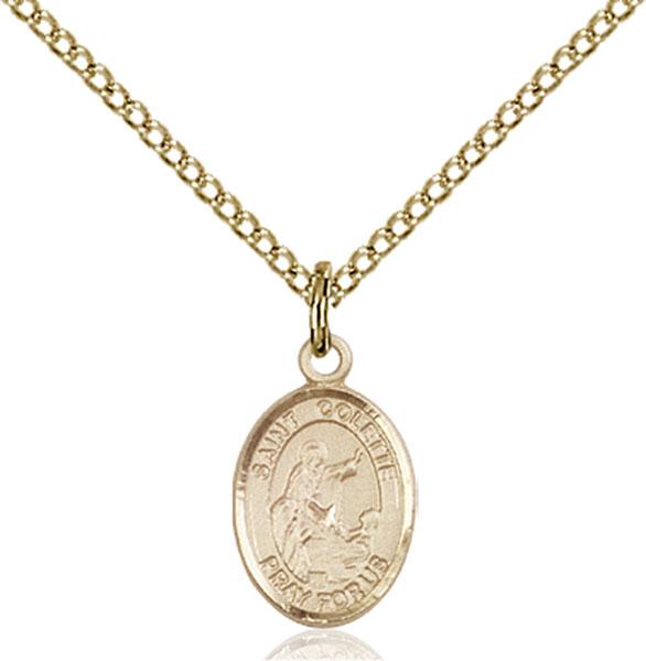 Gold-Filled St. Colette Pendant