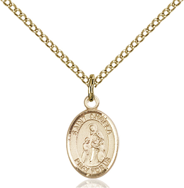 Gold-Filled St. Angela Merici Pendant
