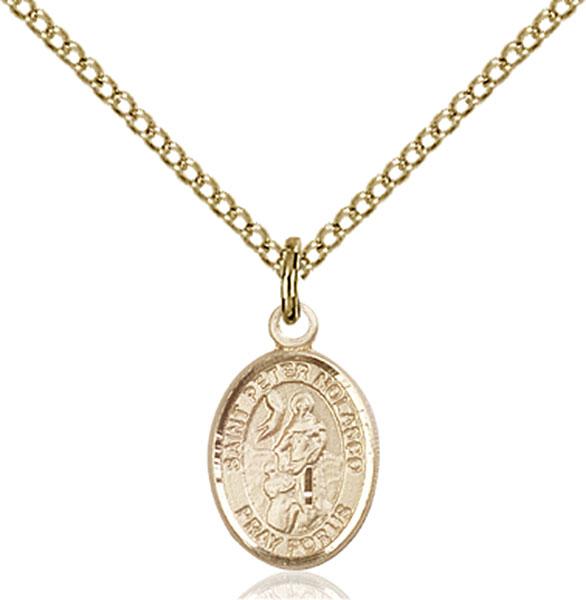Gold-Filled St. Peter Nolasco Pendant