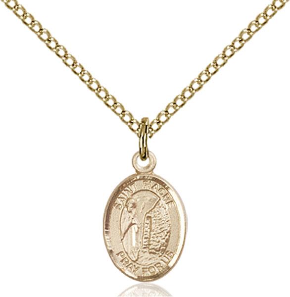 Gold-Filled St. Fiacre Pendant