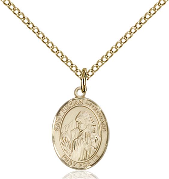 Gold-Filled St. Finnian of Clonard Pendant