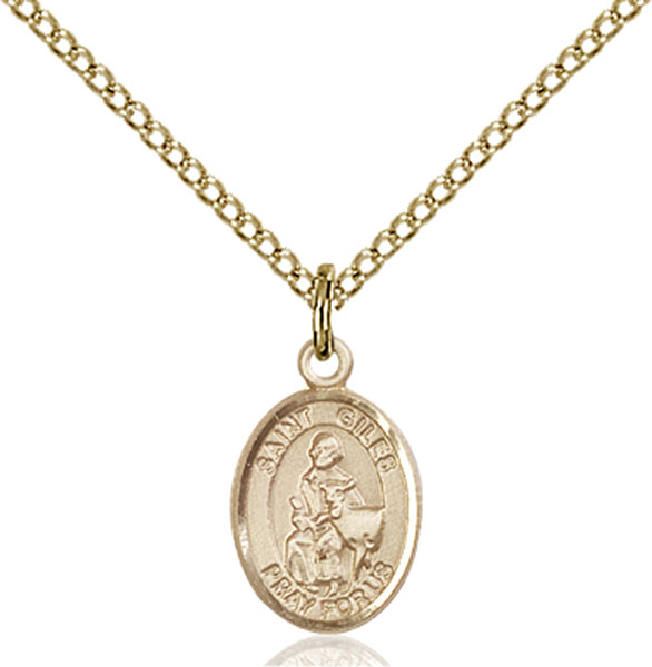 Gold-Filled St. Giles Pendant