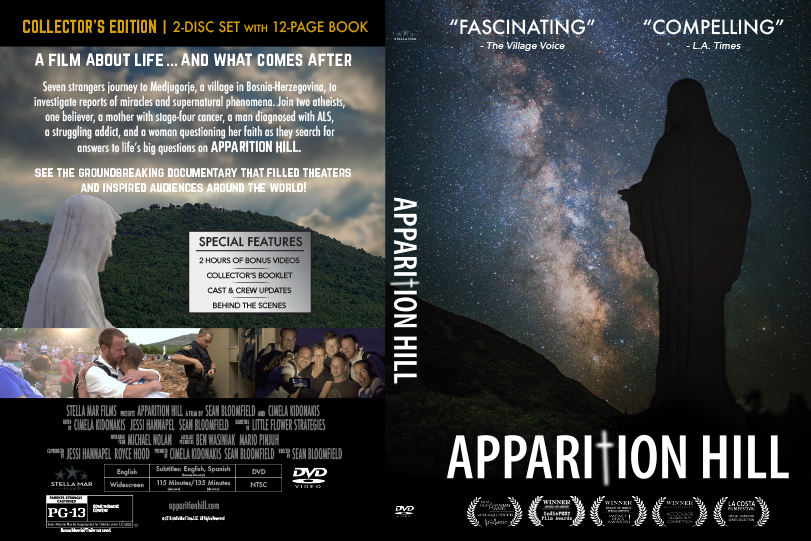 Apparition Hill on DVD