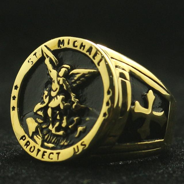 St. Michael the Archangel Vintage Ring