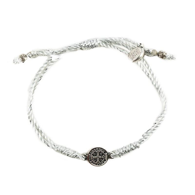 Breathe Blessing Bracelet – Silver Metalic - Silver