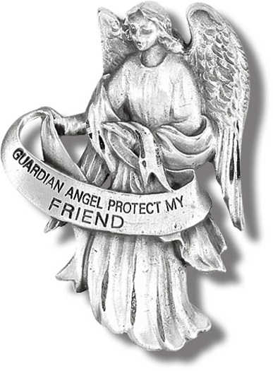 Guardian Angel Visor Clip Friend