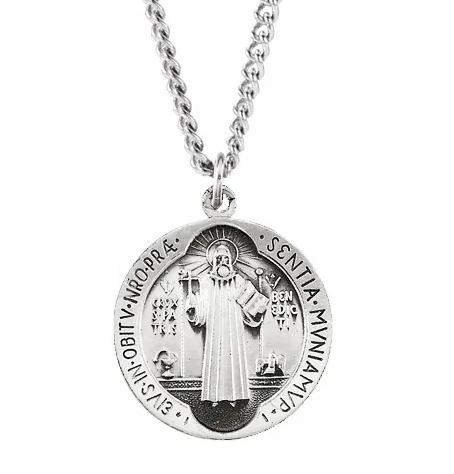 Silver St. Benedict Medal
