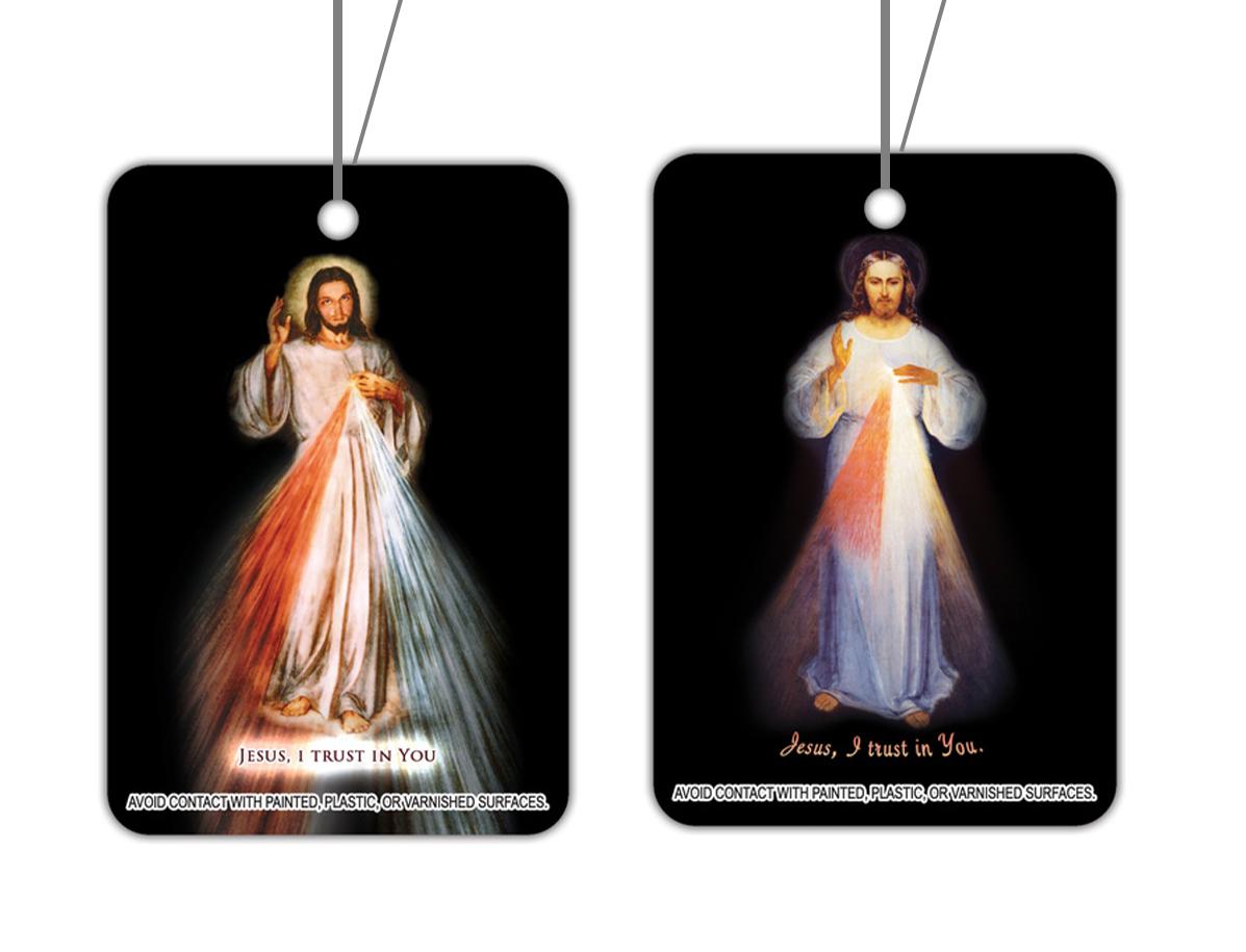 Divine Mercy Air Freshener