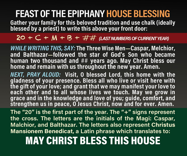 Epiphany House Blessing