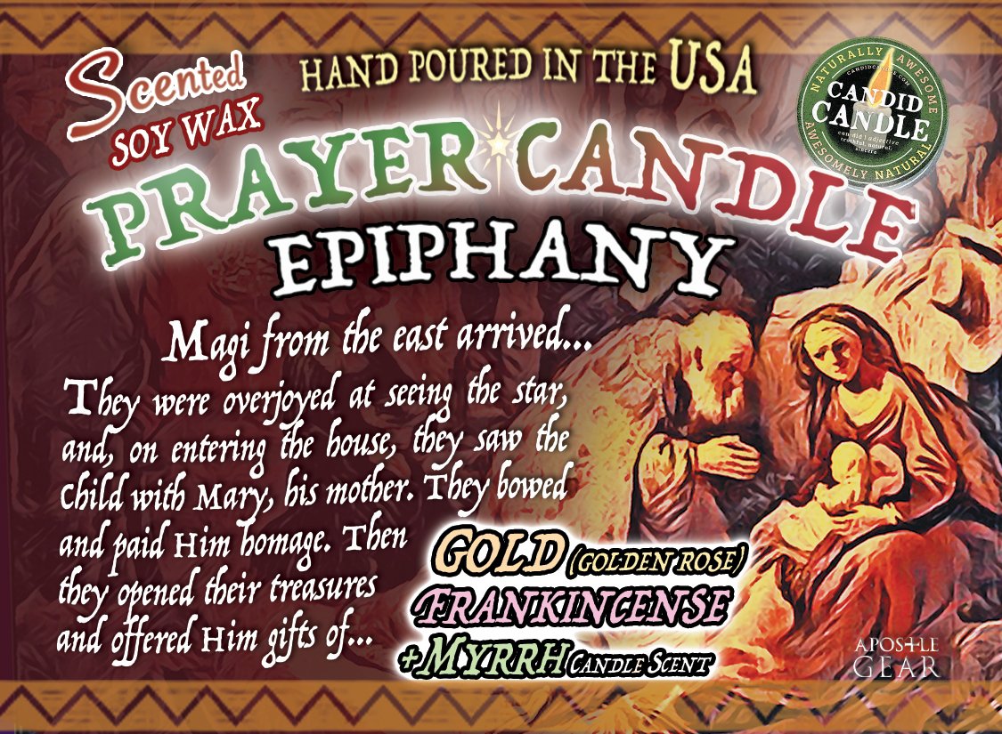 Scented Prayer Candle for Epiphany
