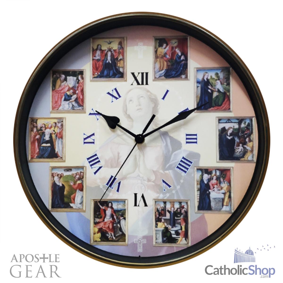 Rosary Clock
