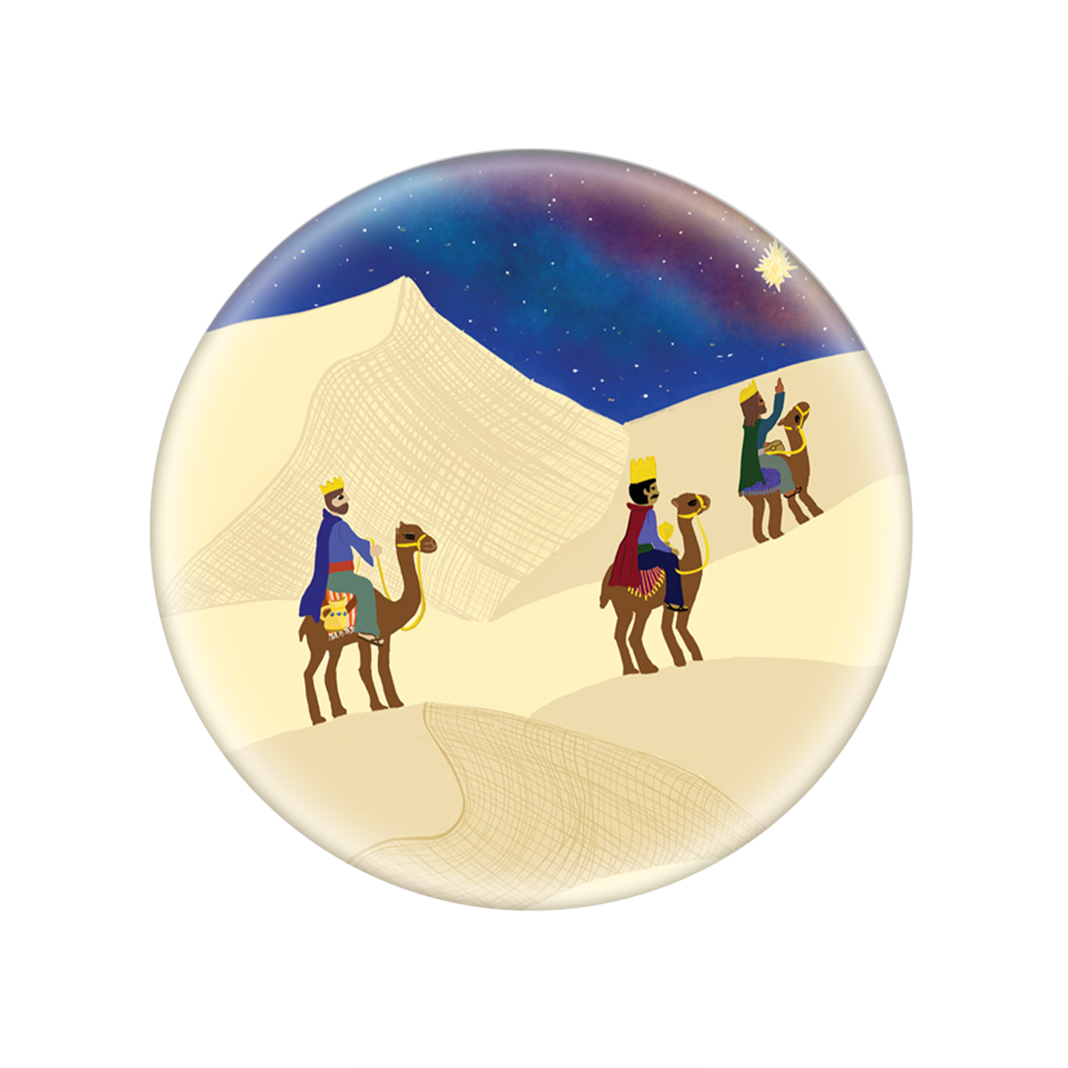 Magi Glass Magnet