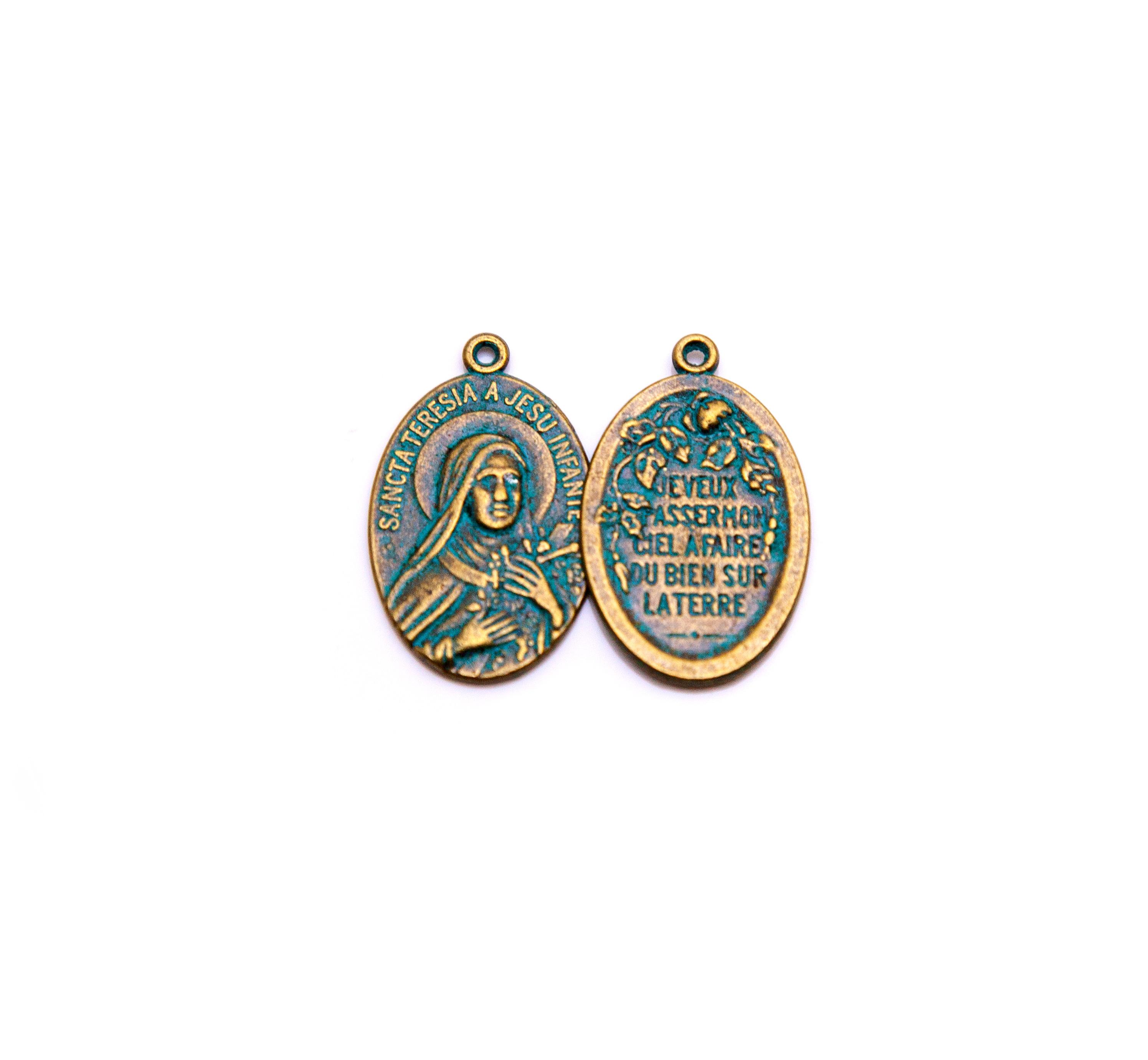 Vintage St. Teresa Medal