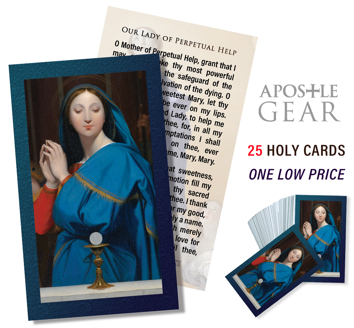 Our Lady of Perpetual Help Prayer Cards