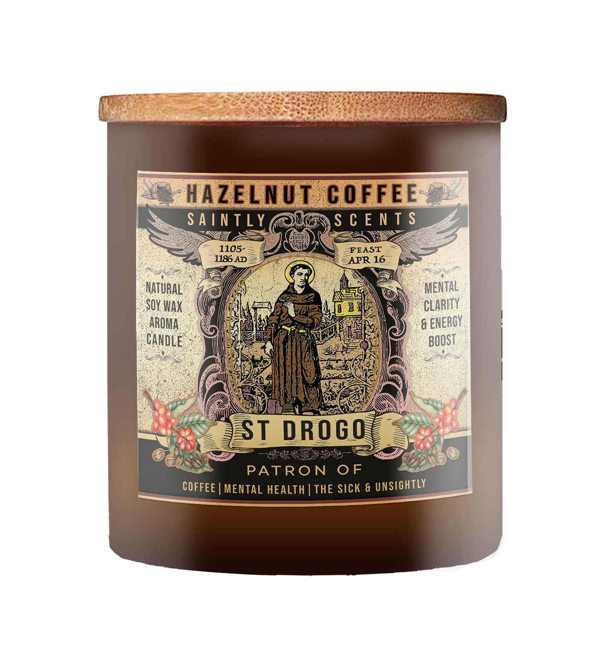 St. Drogo Coffee Candle