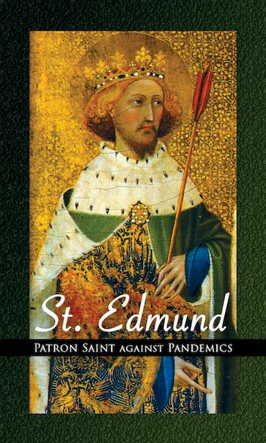 St. Edmund Coronavirus Holy Cards - 100-Pack